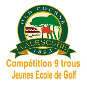 Logo Valescure compet 9T jeunes Ecole Golf